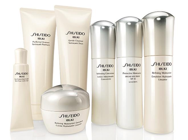 Shiseido's new Ibuki skin care range