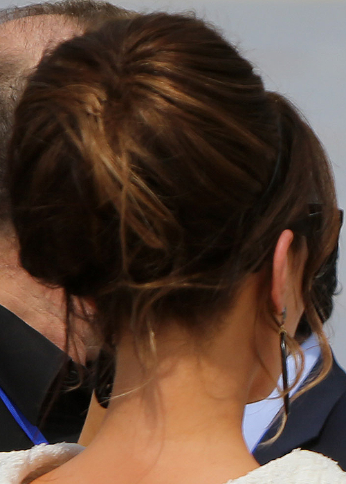 The back view of Kate's massive bun! Photo: Getty Images