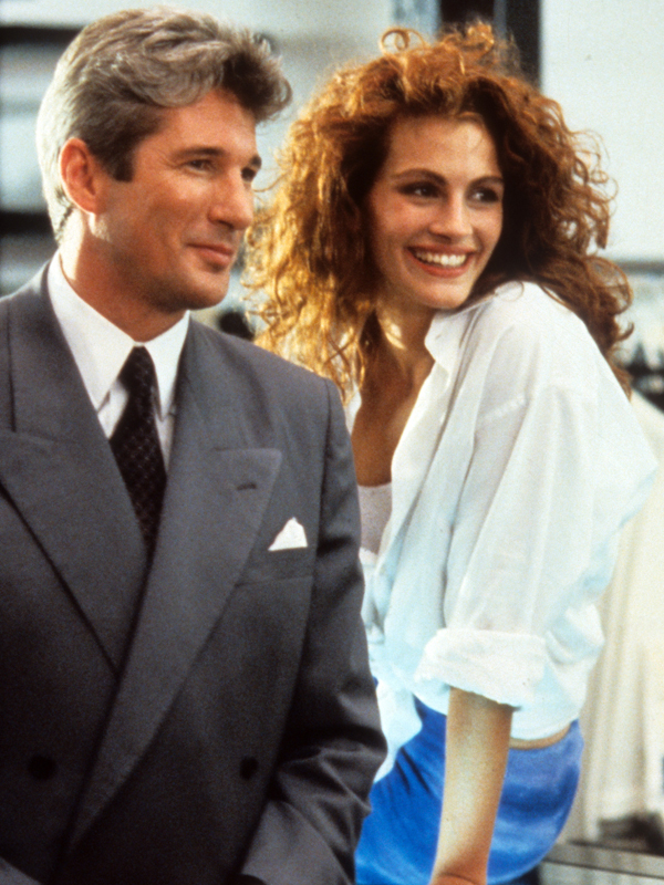 Richard Gere And Julia Roberts In 'Pretty Woman'
