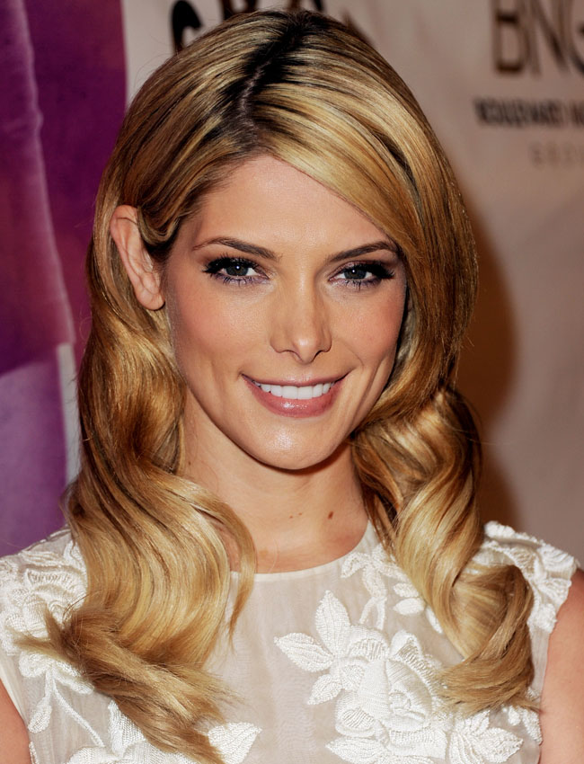 Ashley Greene Shows Off Long Blonde Extensions Stylecaster