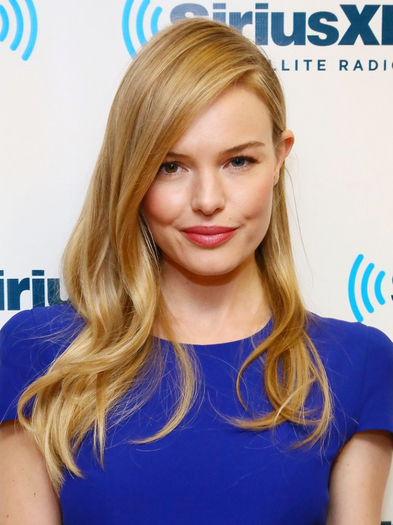 Get a natural looking flush like Kate Bosworth.
