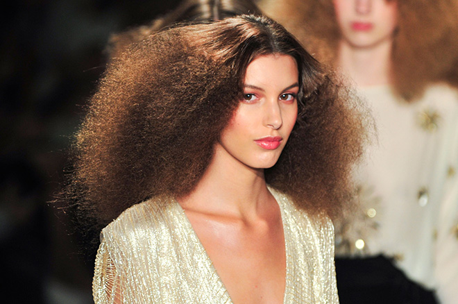 would you wear �disco curls� big hair is having a moment