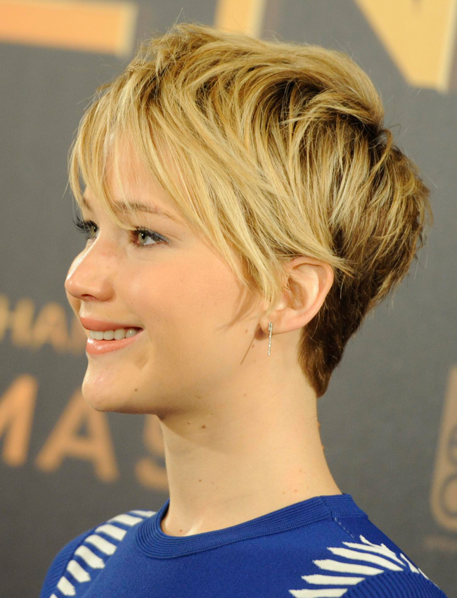 Why We Now Love Jennifer Lawrences Pixie Haircut Stylecaster