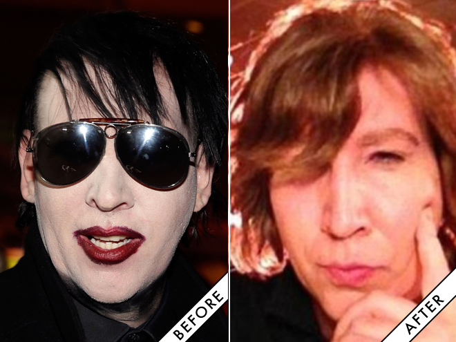 Marilyn Manson, is that you?