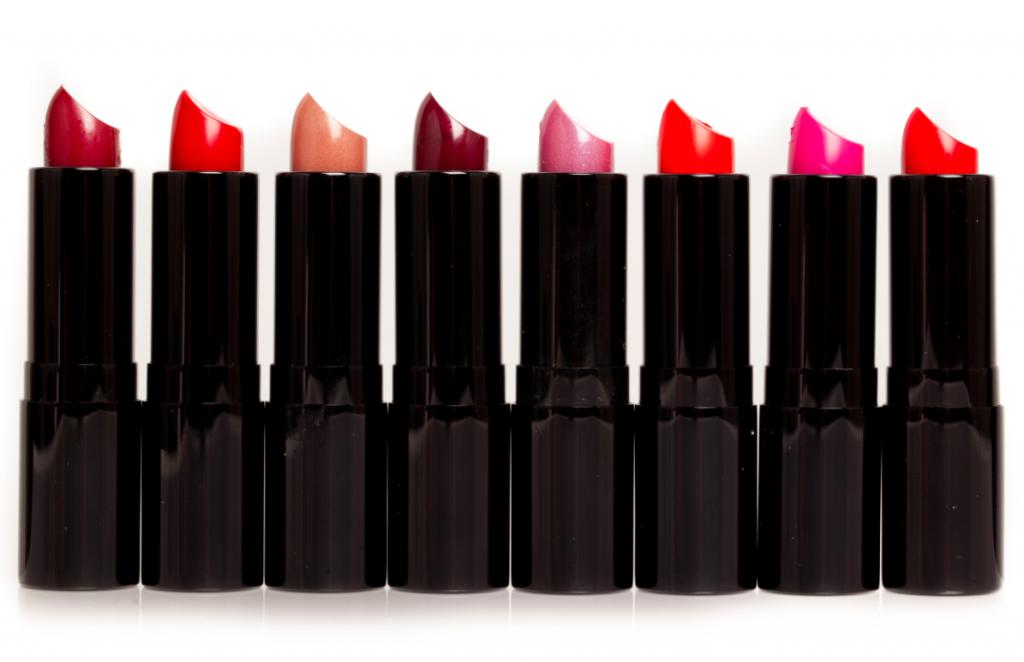 Ted Gibson's lipstick range.