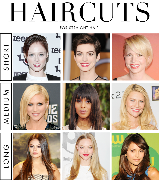 haircut styles names the best haircuts for hair stylecaster 5474 | straight haircuts article