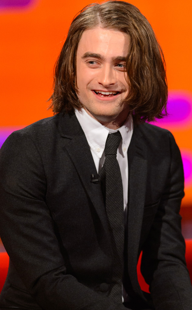 Daniel Radcliffe is looking very different these days.
