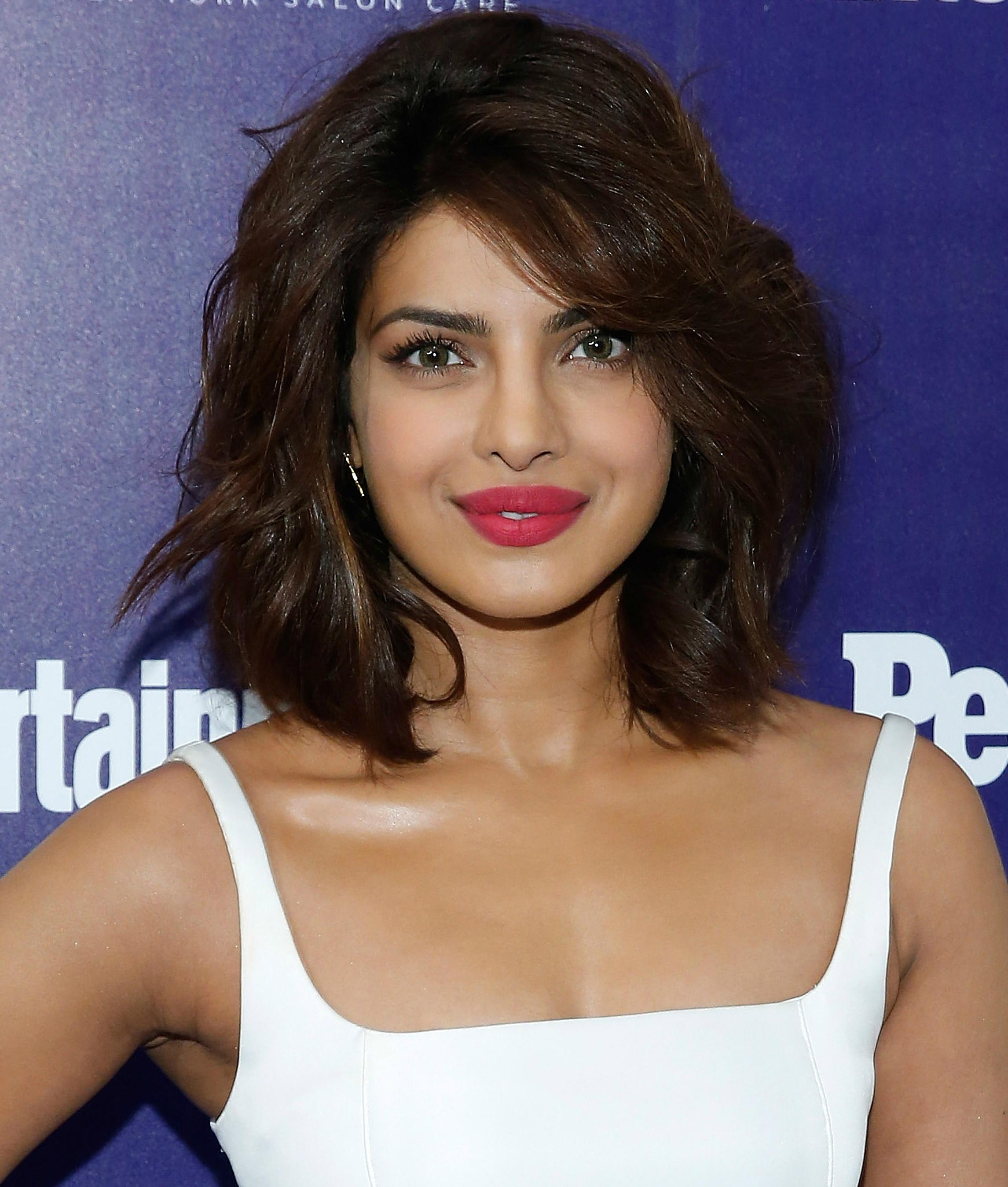Priyanka Chopra Recent Hairstyle - Deepika Padukone Age