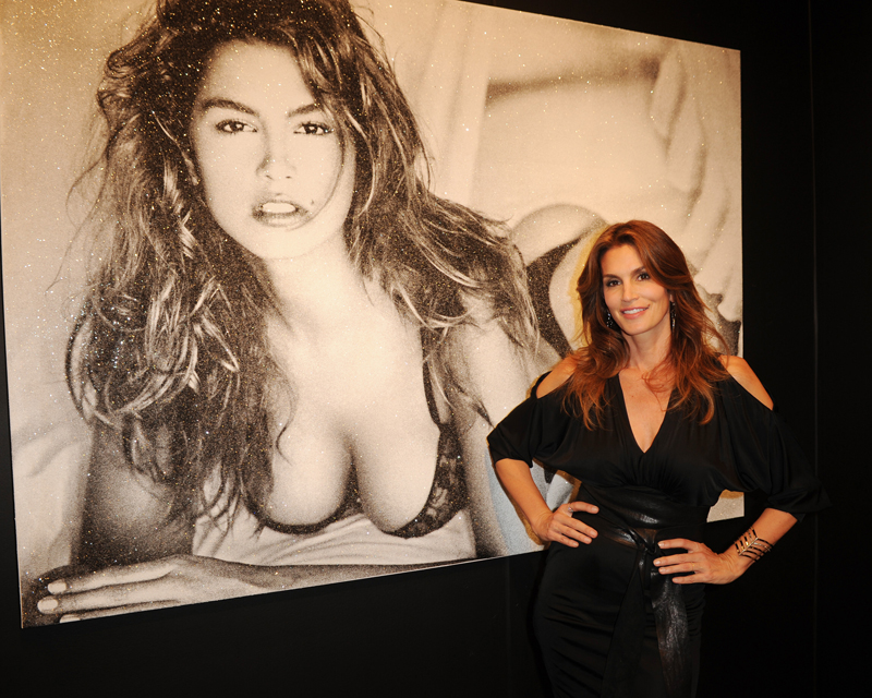 Cindy Crawford Attends Art Miami - Context VIP Preview