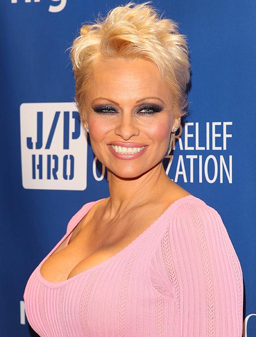 pamela anderson News: Pamela Andersons Powerful Pixie; Spring 2014 Trend Report