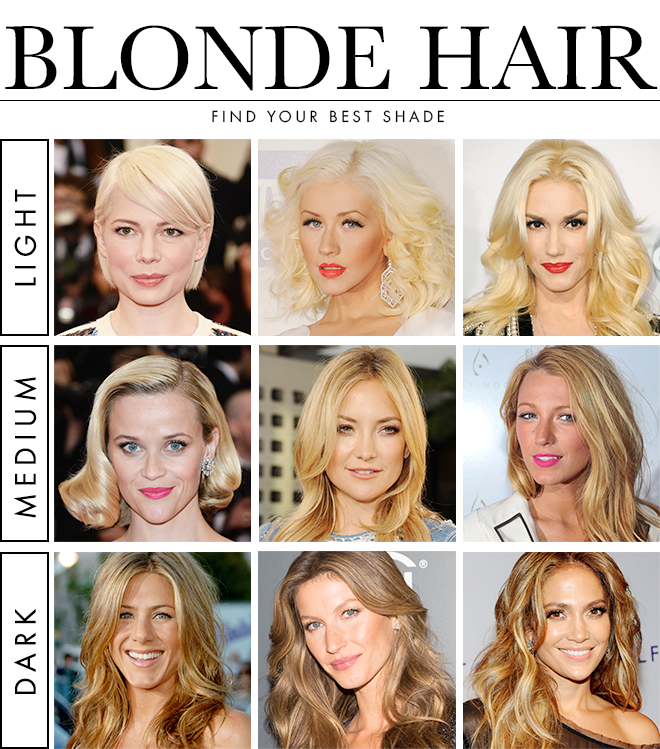 How To Find Your Best Blonde Hair Color Stylecaster