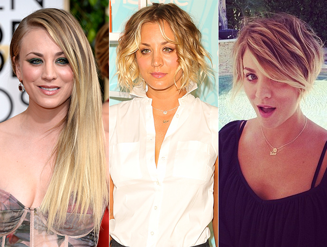 The Best Long To Short Celebrity Hair Transitions Stylecaster