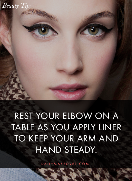 eyeliner tips pinterest 01 Liquid Liner 101: All the Tips and Tricks You Need for Perfect Application