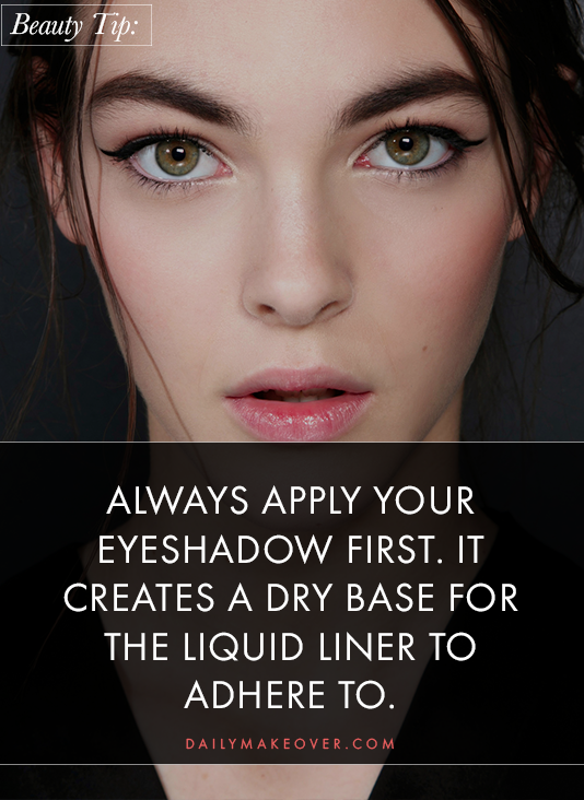 eyeliner tips pinterest 02 Liquid Liner 101: All the Tips and Tricks You Need for Perfect Application