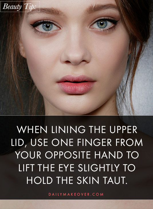 eyeliner tips pinterest 03 Liquid Liner 101: All the Tips and Tricks You Need for Perfect Application