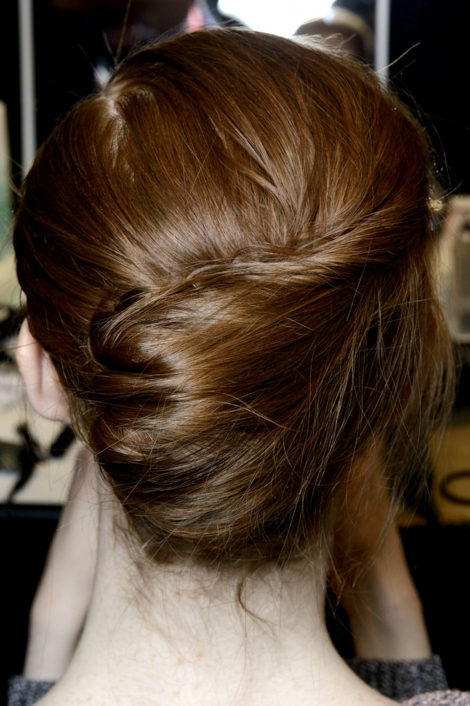 french twist holiday hairstyle