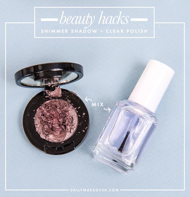 nail polish beauty hack