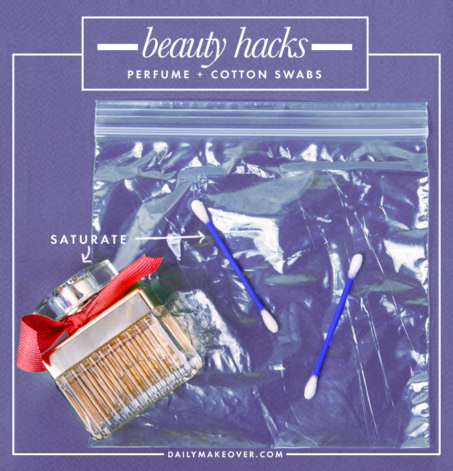 perfume beauty hack