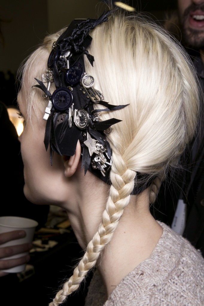 hair accessory holiday hairstyle