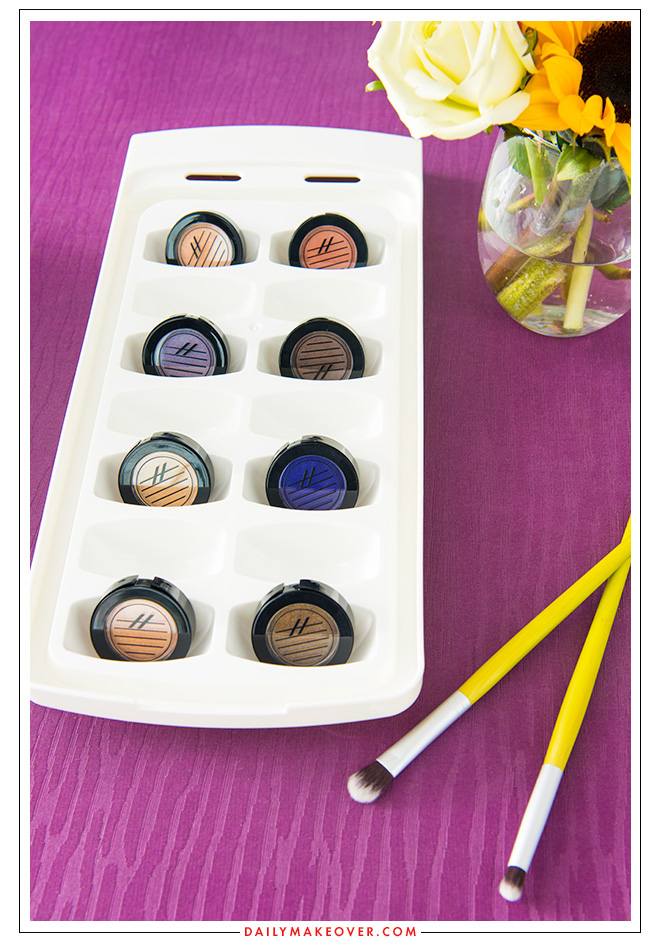 ice tray beauty product organization