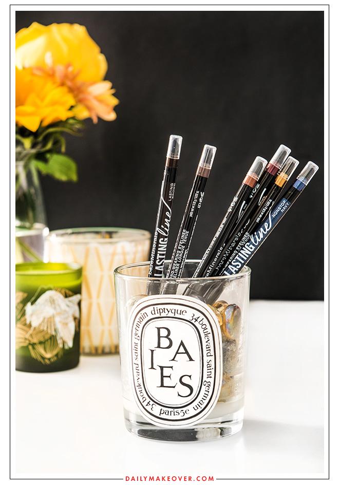 candle jar beauty product organization