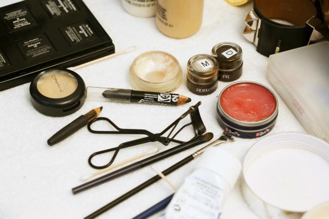 makeup in fridge