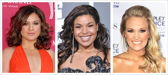 American Idol winning hairstyles