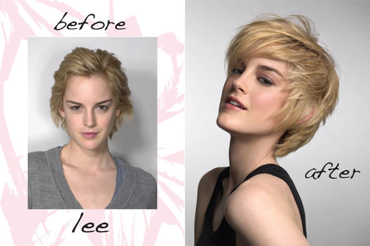 Amazing Makeover A New Shaggy Short Haircut Stylecaster