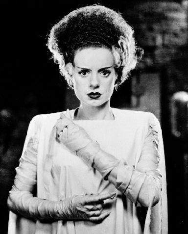 Think Bride of Frankenstein