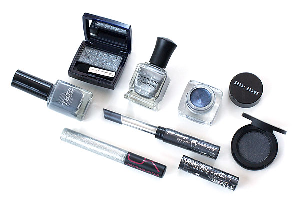 Fall Makeup Color Trends - Gray