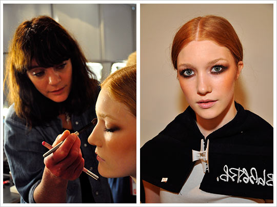 Erin Fetherston - final makeup look - Mercedes Benz Fashion Week Spring 2010