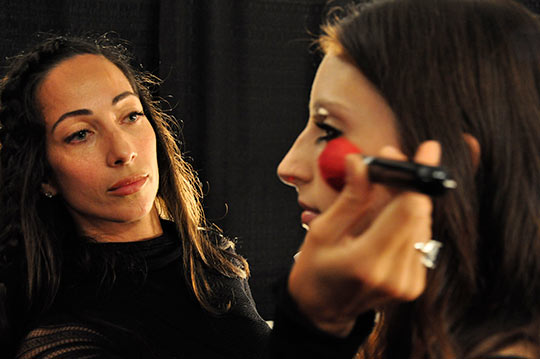 Vivienne Tam - Gina Brooke for Shu Uemura - New York Fashion Week Spring 2010