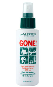 Aubrey Organics Gone SPF 15 Bug Spray