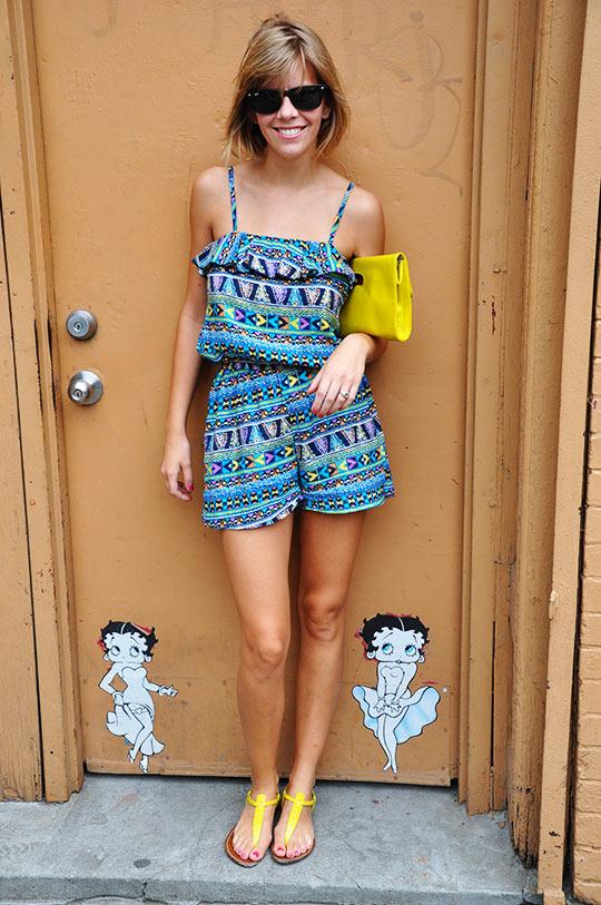 Haley summer street style