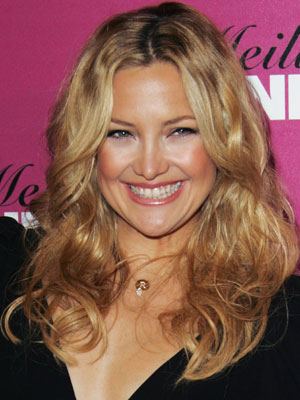 Kate Hudson gets her glow in during the winter.