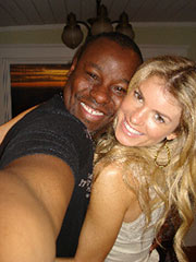 Marisa Miller and Ted Gibson