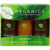 Noah's Naturals Organics Rosemary Mint Travel Kit