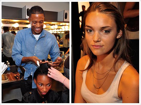 Rachel Roy - final makeup look - Mercedes Benz Fashion Week Spring 2010