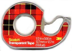 scotch tape Off The Wall Beauty Tricks