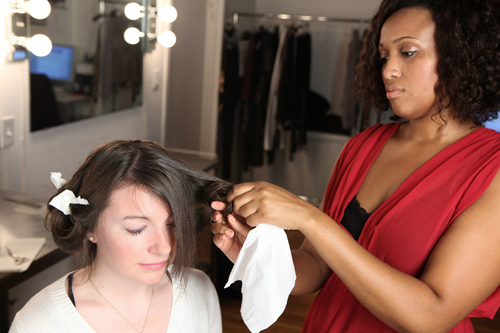 style caster1 How to Style Your Hair at Night For an Easier Morning