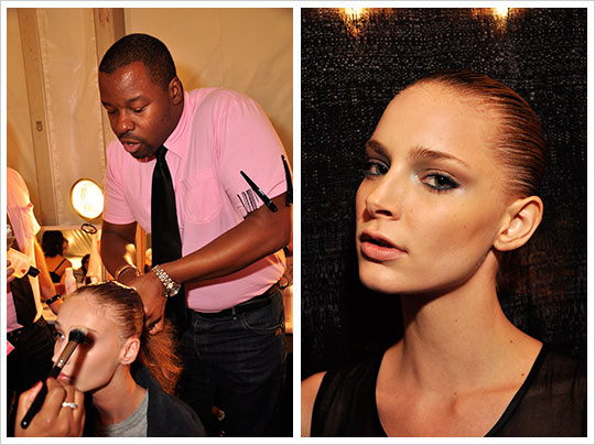 Fashion Week Spring 2010 Tony Cohen hair