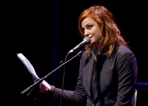 Amy Poehler redhead