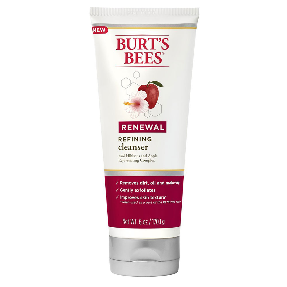 burt's bees renewal refining cleanser