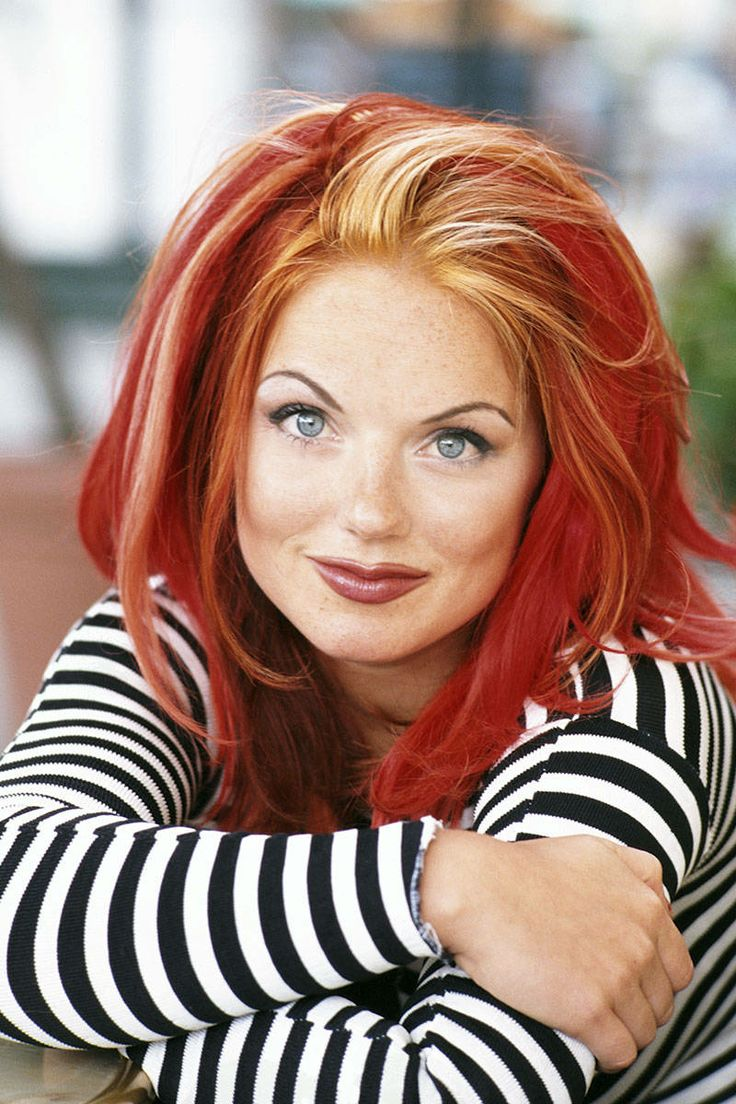 Beauty Throwback Geri Halliwell S Iconic 90s Hair And