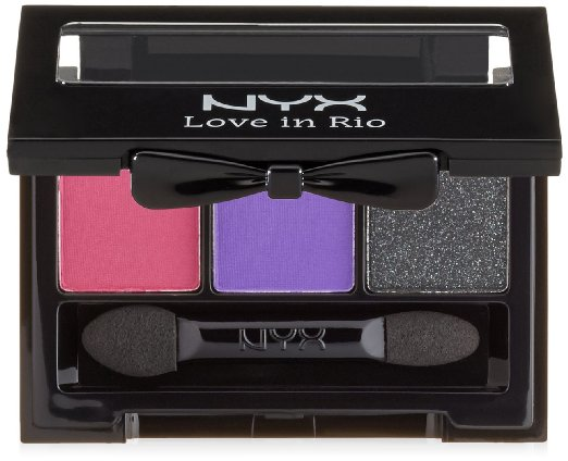 nyx nighttime in rio eye shadow palette