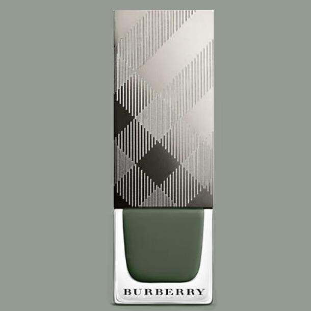 burberry nail polish cadet green