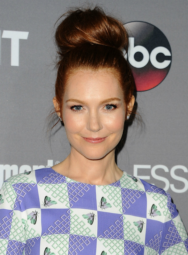 darby stanchfield high bun