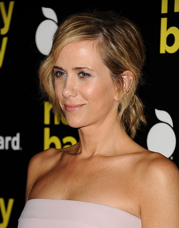 kristen wiig messy ponytail how to