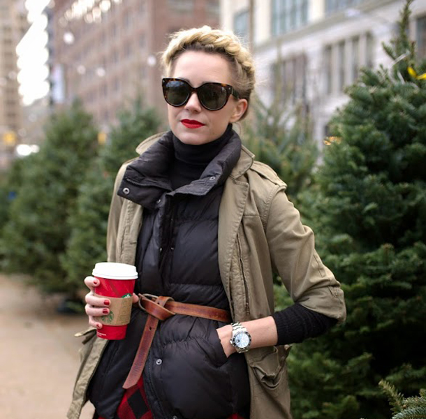 tree The Cutest Hairstyles to Wear With a Turtleneck