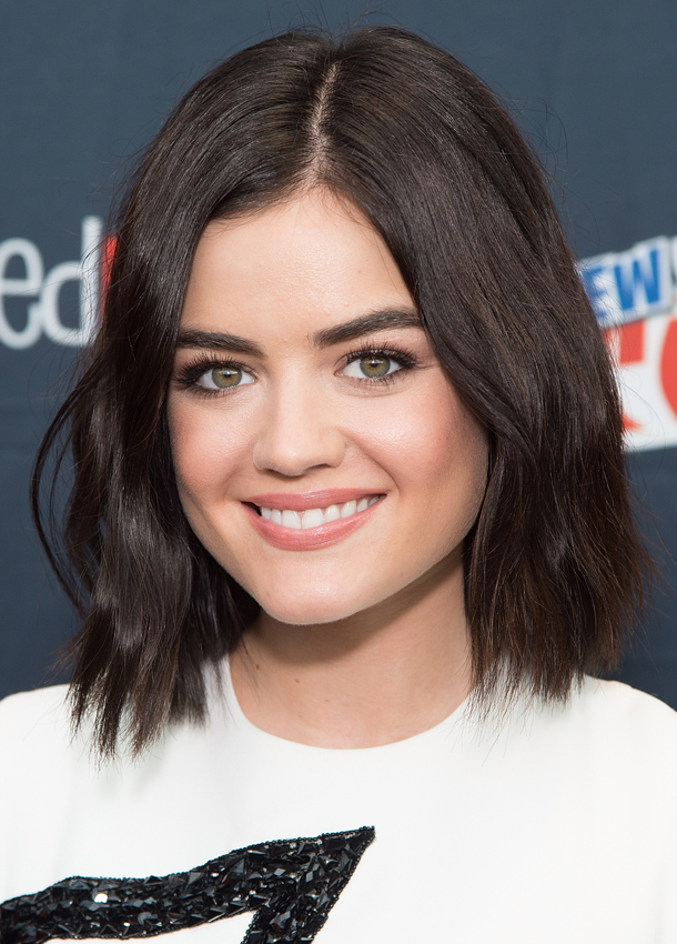lucy hale beauty routine